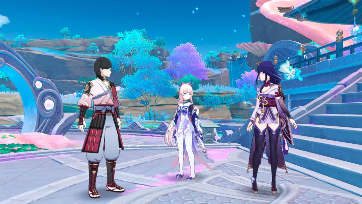 Genshin Impact - прохождение квеста Древнее сокровище Сэйрая