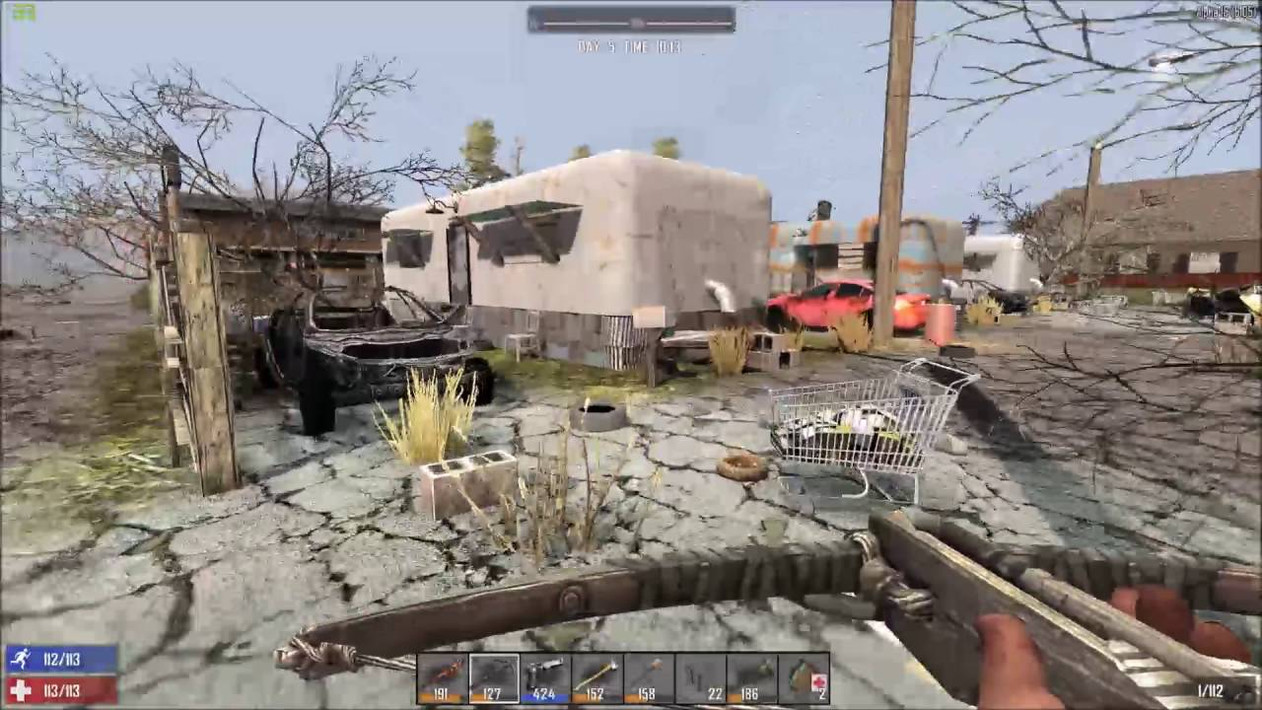 Гайд 7 Days to Die. Лучшее место для базы на карте Navezgane