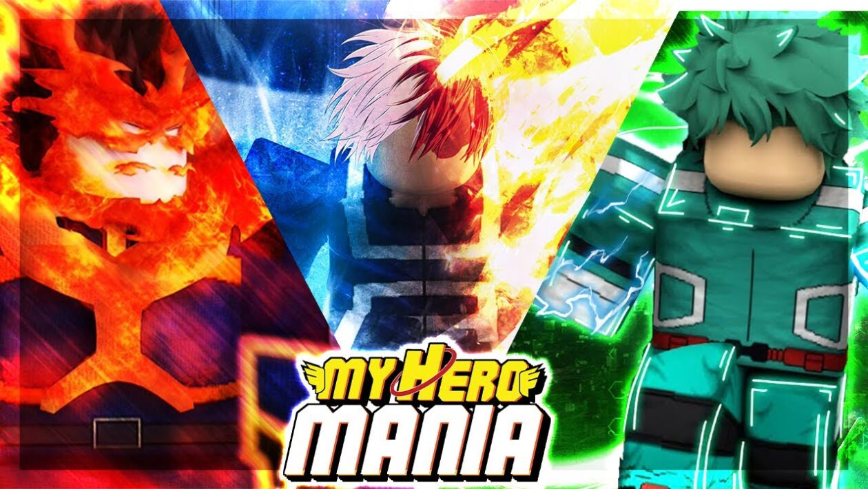 Roblox My Hero Mania - коды